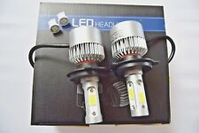 KIA SPORTAGE 1994-2010 Headlight Car LED Kit set 2x H4 Bulbs PURE WHITE+501
