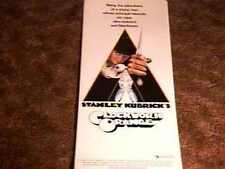 "CLOCKWORK ORANGE ""X""  INSERT MOVIE POSTER 1972 KUBRICK"