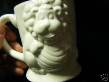 childs mug figural Lion Tail is handle VERY unique