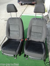 VW TIGUAN SITZ SITZE LEDERAUSSTATTUNG STOFF+LEDER-ALCANTARA SCHWARZ !!!