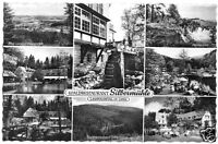 "AK, Leopoldstal in Lippe, Waldrestaurant ""Silbermühle"", acht Abb., 1962"