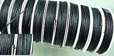 1 bobine de fart ou coton ciré 1mm noir