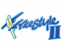 Original Ford Freestyle II Aufkleber für Fiesta MK3 XR2i 16V 1.0 1.1 1989-1997