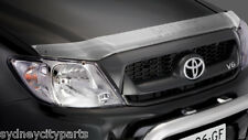 TOYOTA HILUX HEADLAMP COVERS FEB 2005 - SEPT 2011 SR SR5 WORKMATE NEW GENUINE