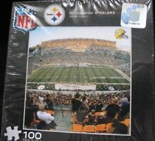 Pittsburgh Steelers Heinz Field 12 x12 inch 100 Piece Puzzle sealed box