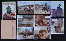 LE CONVOI SAUVAGE set 8 lobby card photo 1971 film WESTERN Harris
