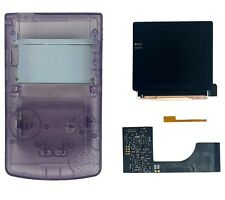 GameBoy Color FunnyPlaying Q5 2.0 Laminated IPS Backlight Kit + Trimmed Shell