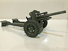 RARE Elastolin or Lineol 105mm HOWITZER CANNON, Tin, Germany, 1930s, Nice Cond