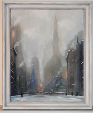 Listed American Artist Leon Dolice, Original Pastel, Signed, Large Painting