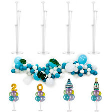 Balloon Column Stand Kit 4 Pack for Table Decor Birthday Baby Shower Wedding