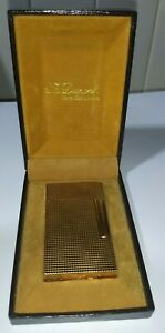 ANTIQUE LIGHTER VINTAGE S.T. DUPONT WITH BOX - MADE IN FRANCE - 100% AUTHENTIC