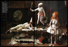 Andrew Garfield & Lily Cole 12-page clipping 2009 Hansel & Gretel, Lady Gaga