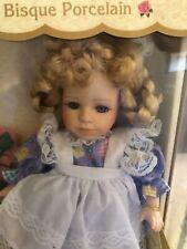 GENUINE FINE BISQUE PORCELAIN DOLL COLLECTOR'S CHOICE IN ORIGINAL BOX.