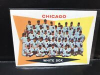 1960 Topps Chicago White Sox Team Card #208 - Unmarked Checklist