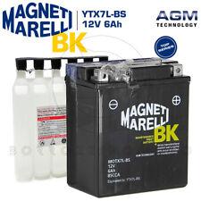 BATTERIA MAGNETI MARELLI YTX7L-BS 12V 6Ah HONDA SH IE 125 150 2008 2009 2010