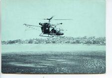 CP Militaria - Gendarmerie - Carte publicitaire Vêtements Germain - Hélicoptère