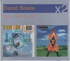 DAVID BOWIE HEURES / EARTHLING BOX 2 CD SCELLÉ