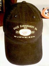 DALE Earnhardt JR Est. 2000 Budweiser Hat Cap NASCAR Chase Authentics Black New