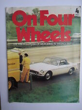 On Four Wheels magazine. Number 4.