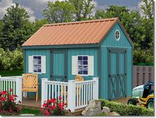 Best Barns Regency 8x12 Wood Storage Shed Kit - All Pre-Cut