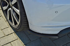 Rear approach Diffuser Spoiler Corners Side panels made from ABS for VW Polo 6C R-Line
