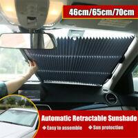 Einziehbar Auto Windschutzscheibe Hitze Isolierung Visier Fenster Markise Cover