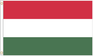 Hungary Polyester Flag - Choice of Sizes