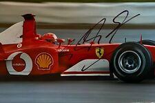 Michael SCHUMACHER: FERRARI F1 autograph, signed photo, RACING