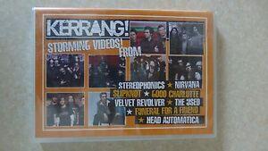 """Kerrang DVD 2005 """"Still Sealed"""" Nirvana, The Used, Slipknot Plus More"""