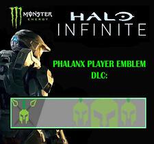 """Halo Infinite Official Monster """"Phalanx Player Emblem"""" RARE DLC"""