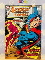 Action Comics #361 Fine- 2nd Parasite App 1968 Silver Age Superman By Neal Adams