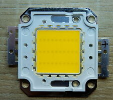 30 W Watt LED Chip 35*35 mil  warmweiss, 3000 Lm,3000K,ww, COB,Fluter, Aquarium
