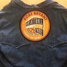 KOBE BRYANT JACKET PATCH 2020 NBA HALL OF FAME INDUCTEE LOS ANGELES LAKER MAMBA
