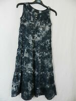 robe grise Mademoiselle DDP  taille 12 ans  tbe  (C165)