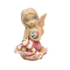 SICK ROSE FAERY Fairy Figurine Jasmine Becket-Griffith goth faerie pink statue