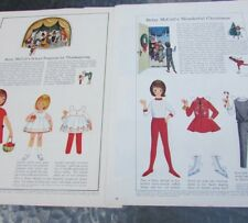 Betsy McCall Paper Doll Christmas Thanksgiving Vhtf Linda 1964 Original