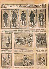 Poilus Chasseurs Alpins Légion d'Honneur Ambulance Bataille de la Marne WWI 1915