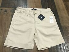 GAP Shield - Kids - Girls - Khaki - Adjustable Waist - Shorts - Size 7 Reg- New