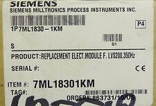 Siemens Milltronics 7Ml1830 1Km Lvs200 Module Pl100930