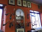 Group Of 4 Great Wall Great Lamps Wall Period Nineteenth Century