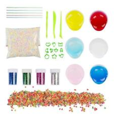 DIY Crystal Slime Kit, 6 Pack Crystal Clay Mud,Magic Transparent Plasticine Toys