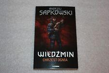 Wiedźmin - 5 chrzest ognia (okładka miękka) Sapkowski Andrzej WITCHER