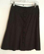 Banana Republic Women's Black Knee Length flare Skirt Sz 0