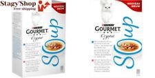 Gourmet Crystal Soup recettes au Thon Soupes en Sachets pour Chat adulte 4 x 40