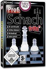 Profi Schach 4 von Purple Hills   Game   Zustand gut