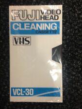 Fuji Video VHS Head Cleaning Cassette VLC-30