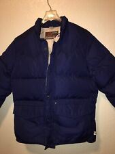 Sunshine Puffer Winter Snow Jacket Size Large Navy Color