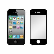 2-pack Black-trim Anti-glare Matte Screen Protector for Apple iPhone 4/4S
