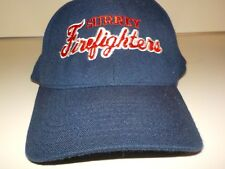 Surrey Firefighters Hat B.C. CANADA Station 104 blue Superflex fit Pedigree