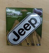 JEEP Wrangler Cherokee Compass Trailer Hitch Plug Cover Universal Receiver